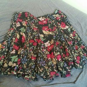 Lauren RL Floral skirt